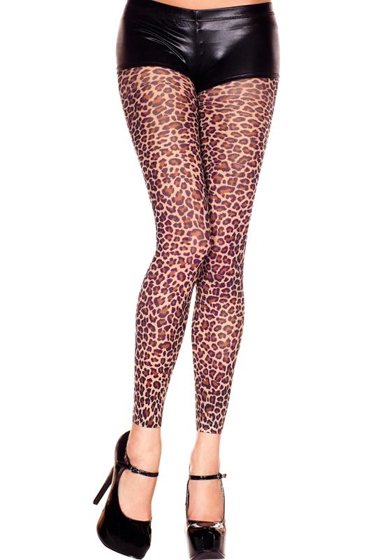 Legging Met Luipaard Print - Bruin