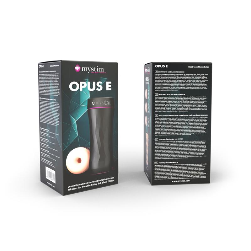 Mystim Opus E-Masturbator - Donut image