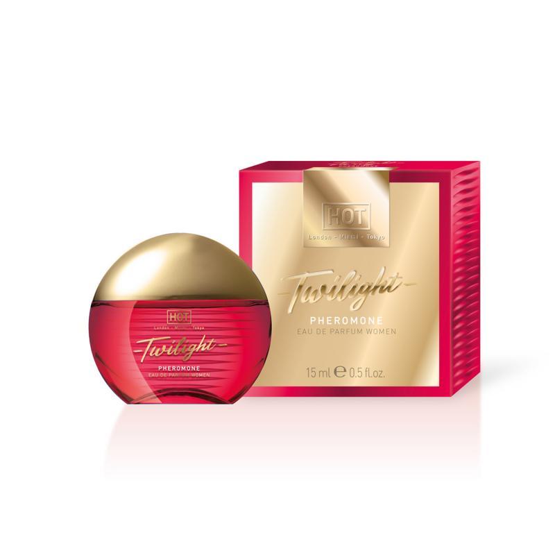 Perfume de feromonas Twilight de HOT - 15 ml