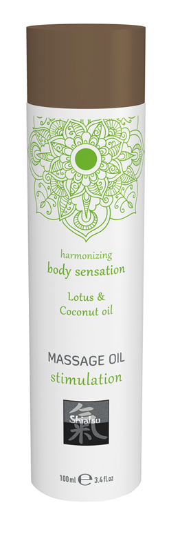 Massage Oil Stimulation - Lotus & Coconut image