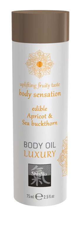 Luxury Body Oil Edible - Apricot & Sea Buckthorn image