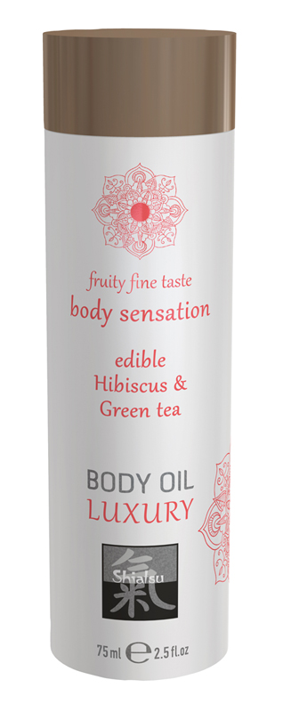 Luxury Body Oil Edible - Hibiskus & Green Tea image