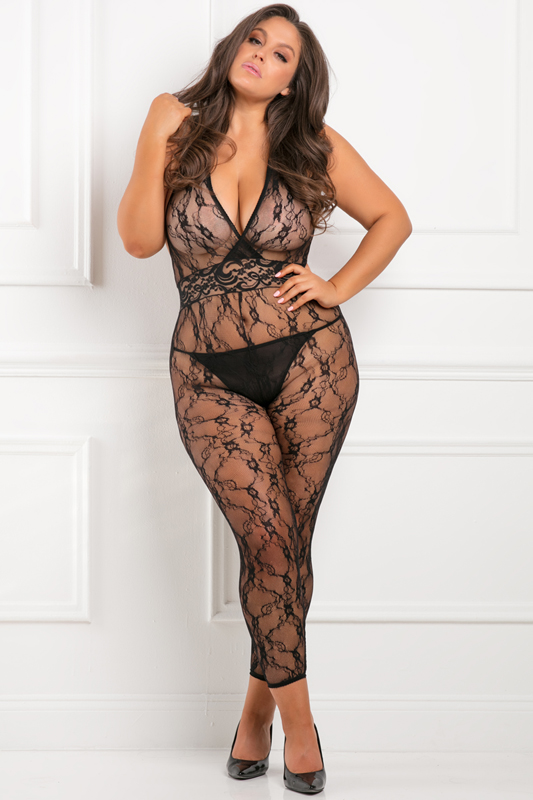 Lacy Movie Catsuit Plus Size