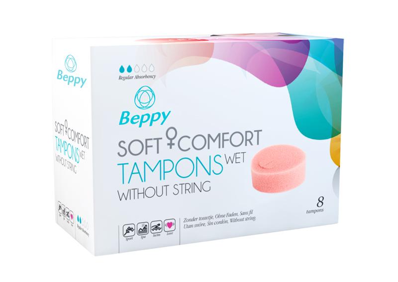 Beppy Soft + Comfort Tampons WET - 8 piezas