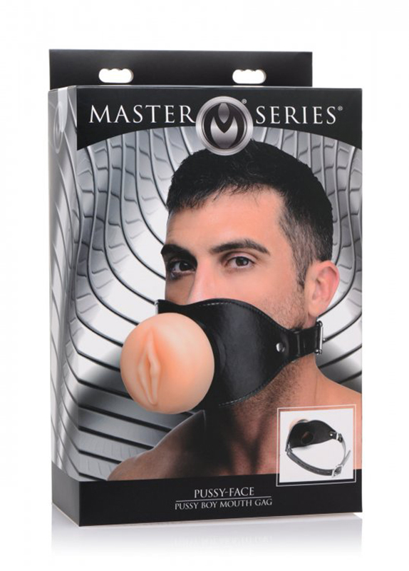 Pussy Face Oral Sex Mouth Gag image