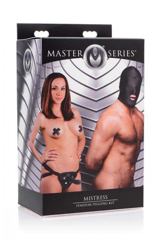 Mistress FemDom Pegging Kit image