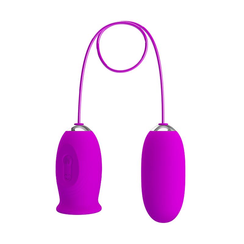 Huevo vibratorio Daisy - Púrpura