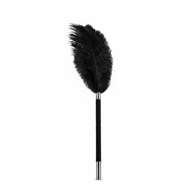Noir - Estimulador de plumas suaves - Negro
