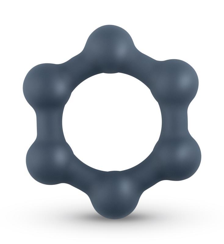 Boners Aro para Pene Hexagonal con bolas de acero
