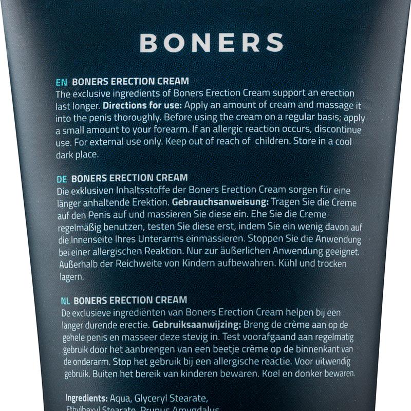 Boners Erection Cream image