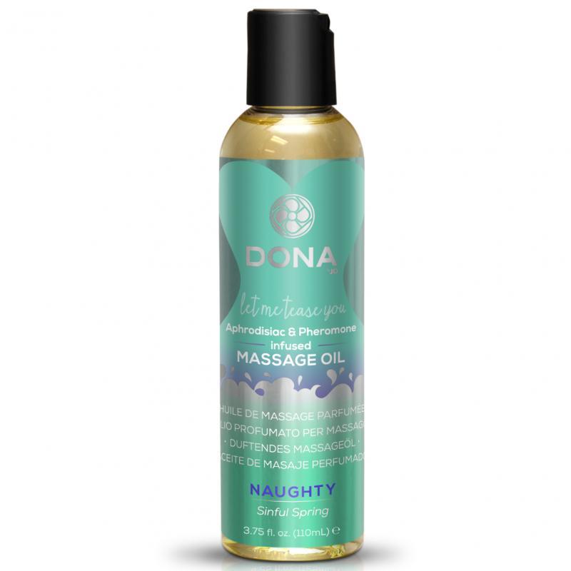 Dona - Aceite aromático para masajes Naughty Sinful Spring - 110 ml