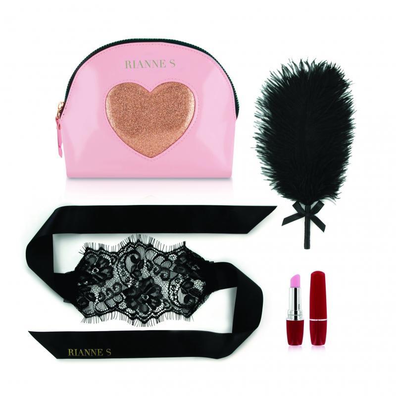 RS - Essentials - Kit d'Amour Sensual para parejas - Rosa/dorado