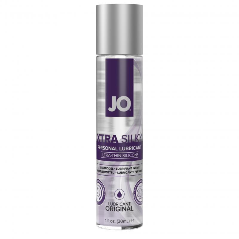 System JO - Lubricante a base de silicona fino Xtra Silky - 30 ml