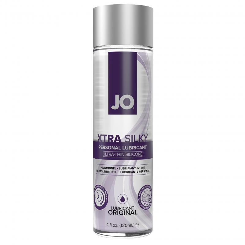 System JO - Lubricante a base de silicona fino Xtra Silky - 120 ml