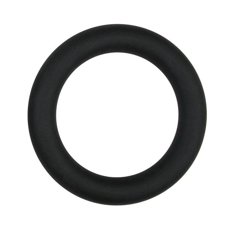 Anillo para pene grande negro de silicona