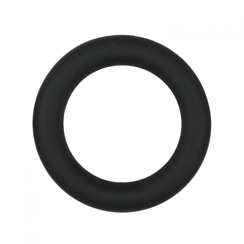 Easytoys Siliconen Cockring Medium – Zwart