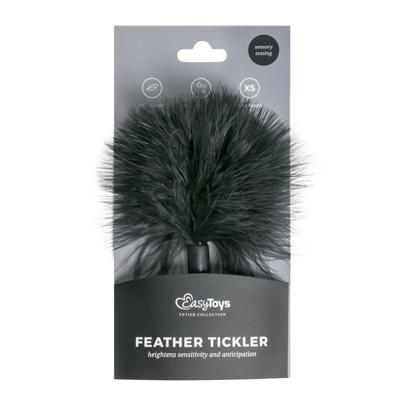 Small Tickler - Black image