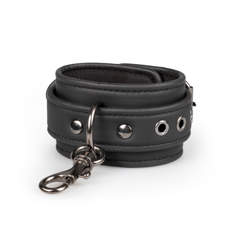 Fetish set with collar, ankle- and wrist cuffs image