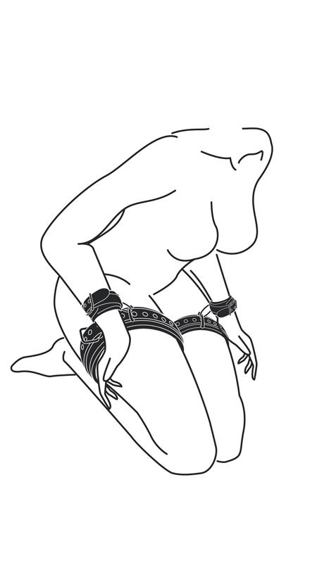 Thigh & Wrist Cuff Set image