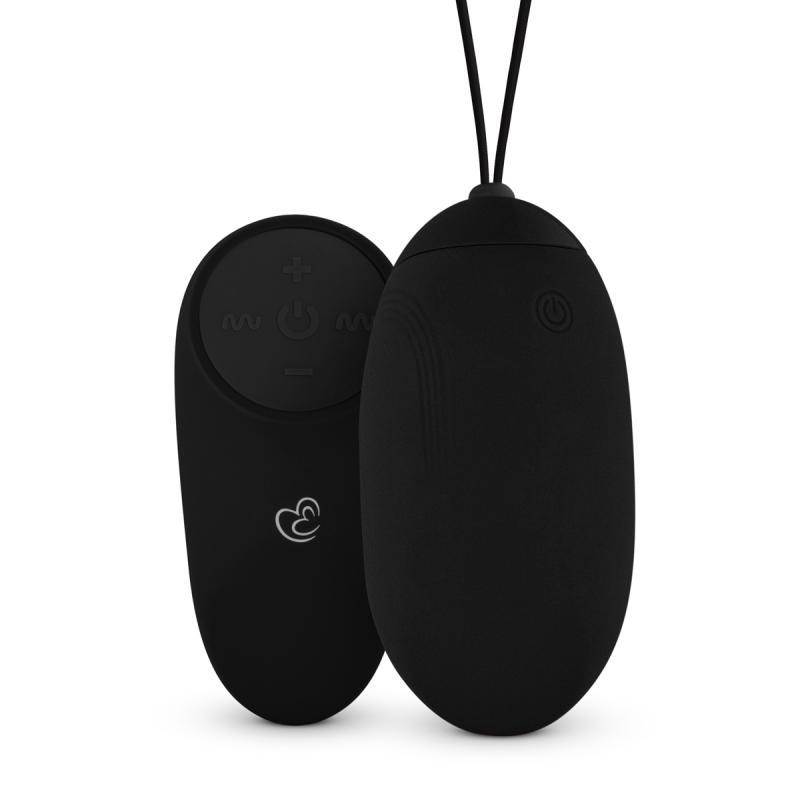 Huevo Vibrador XL Con Mando A Distancia - Negro