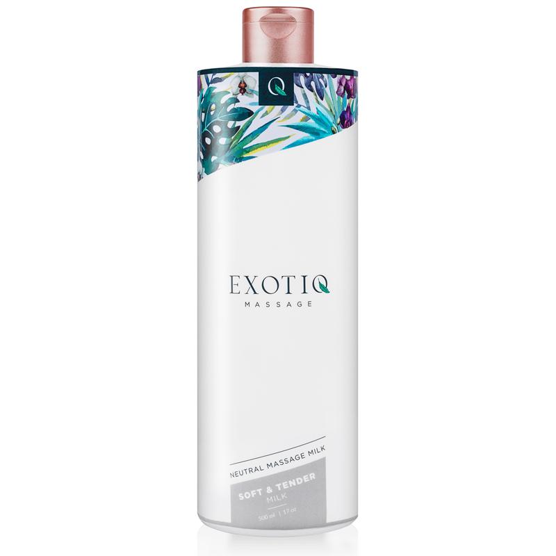 Leche de masaje suave y tierno Exotiq - 500 ml
