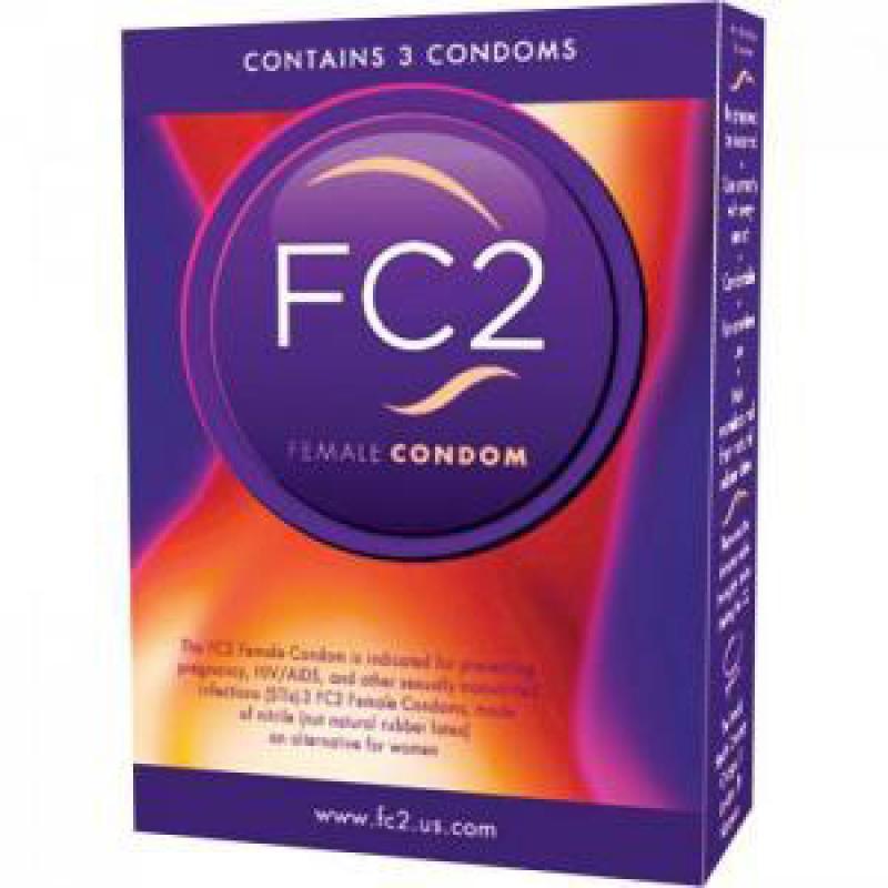 FC2 - Preservativos femeninos - 3 unidades
