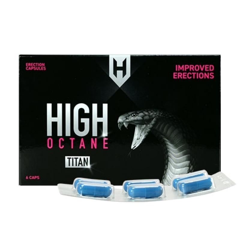 Pastillas para la erección High Octane Titan