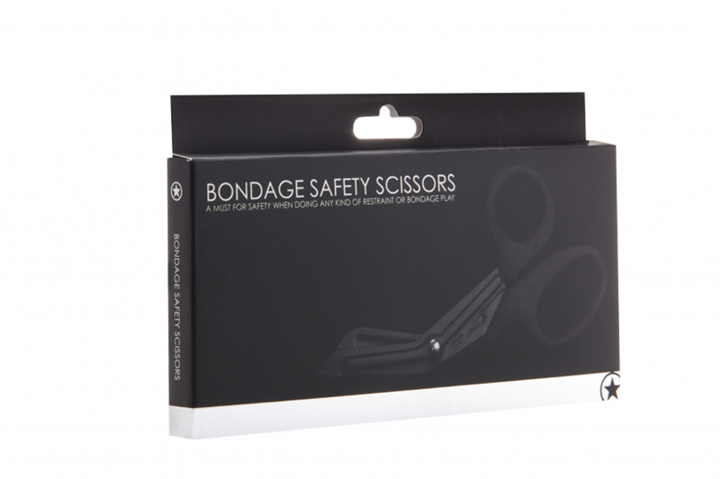 Bondage Safety Scissor - Black image