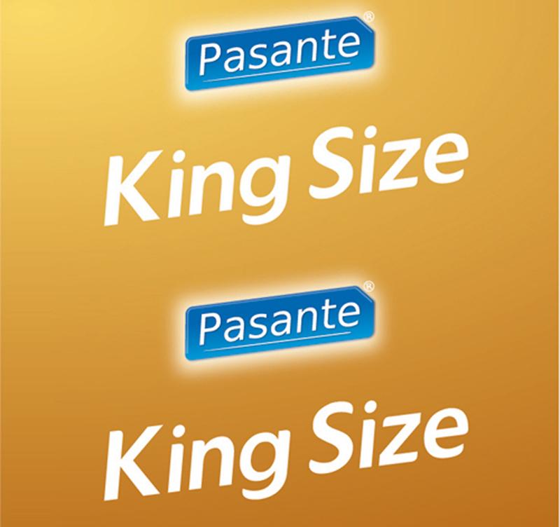 Pasante King Size condoms 12 pcs image