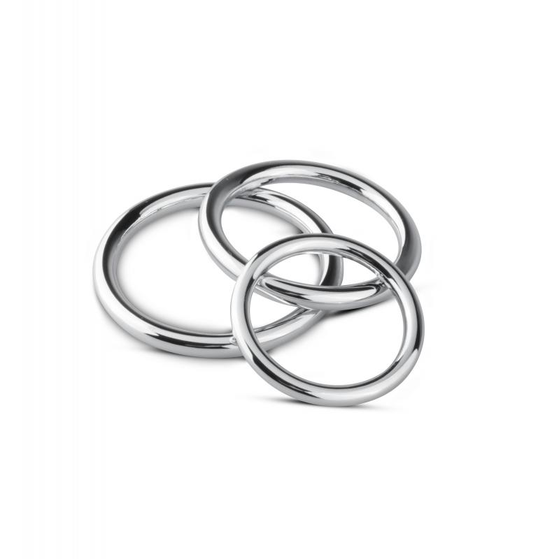 Juego de anillos Cock / Ball Ring y Glans