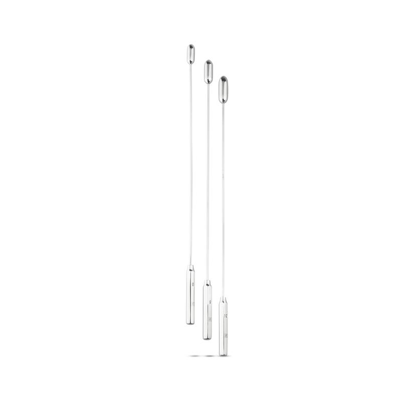 Dilator Set Met Ronde Top – Medium – 3 Stuks