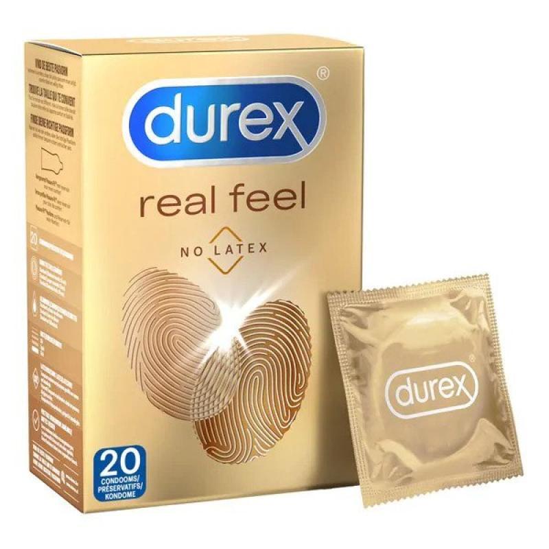 Condones Sensación Real de Durex - 20 unidades