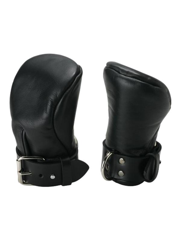 Strict Leather - Guantes de puño acolchados de lujo