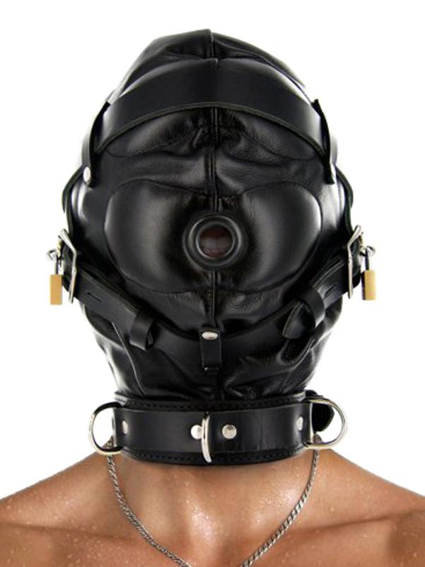 Strict Leather - Capucha de esclavitud de cuero