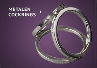 Metalen cockrings
