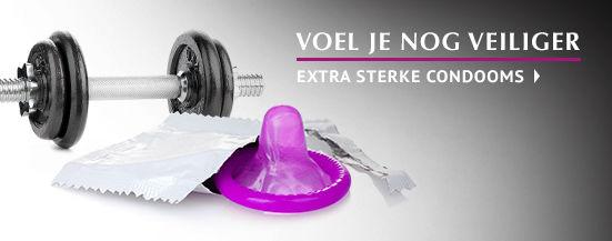 Extra sterke condooms