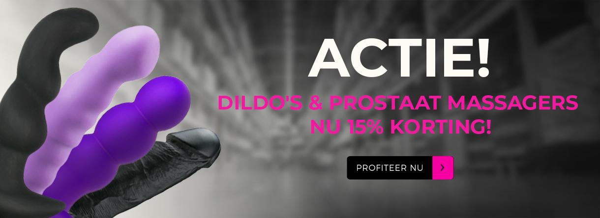 Dildo's en prostaat massagers