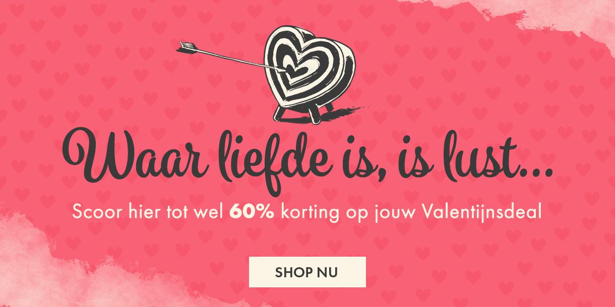 Scoor jouw Valentijnsdeal!