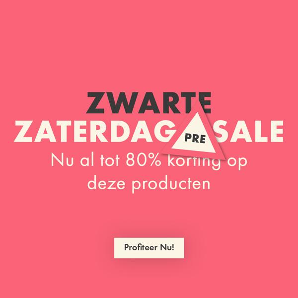 Zwarte Zaterdag Pre Sale HP